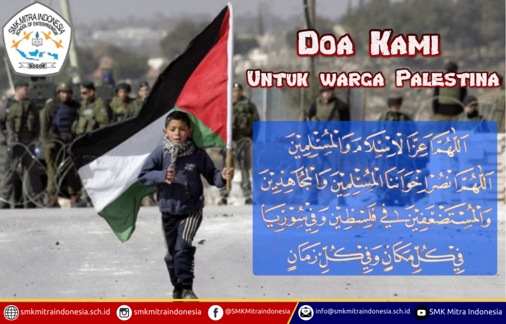Doa Kami untuk Warga Palestina